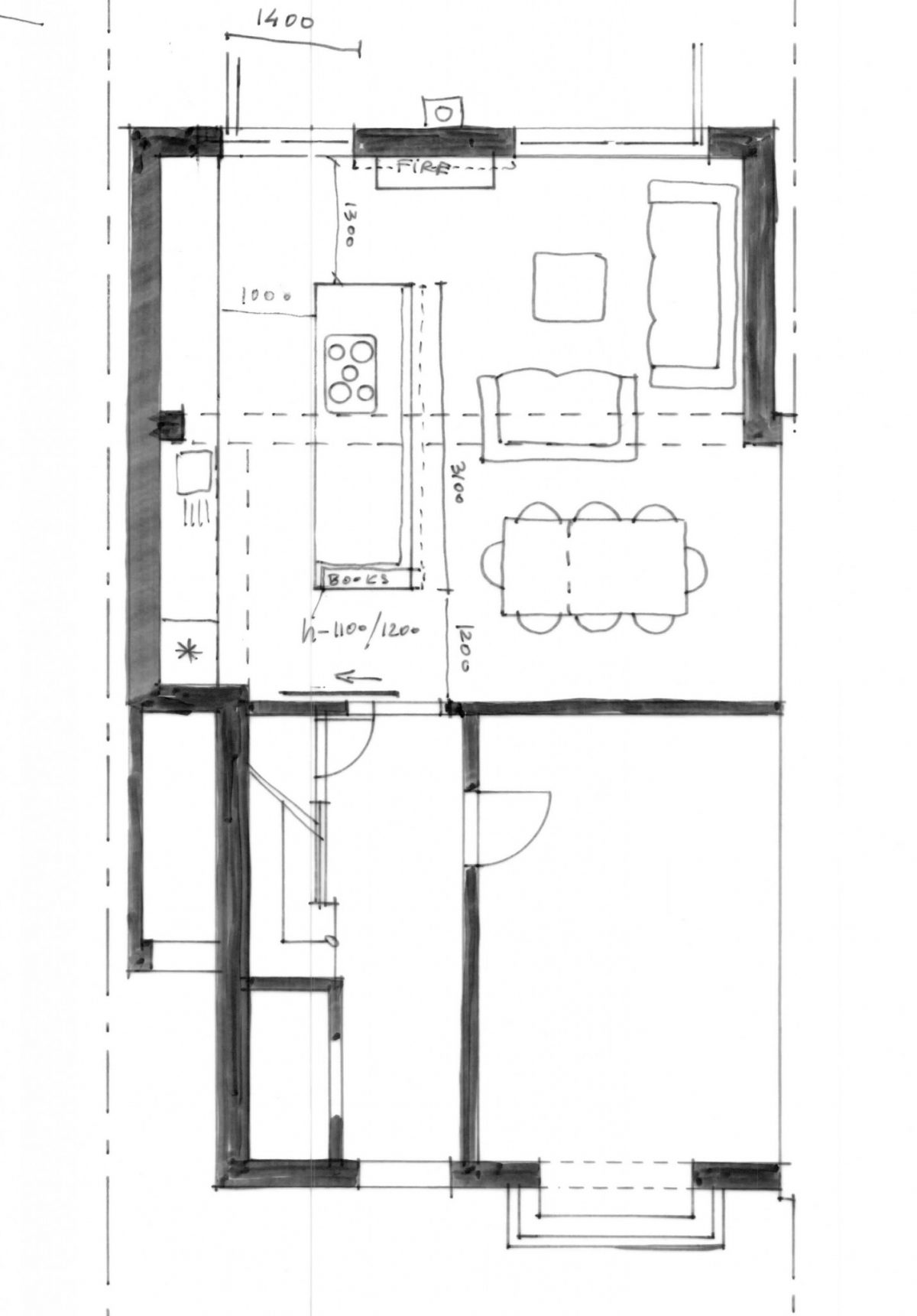 Redesign House Layout in Huyton, Liverpool - Pride Road Architects